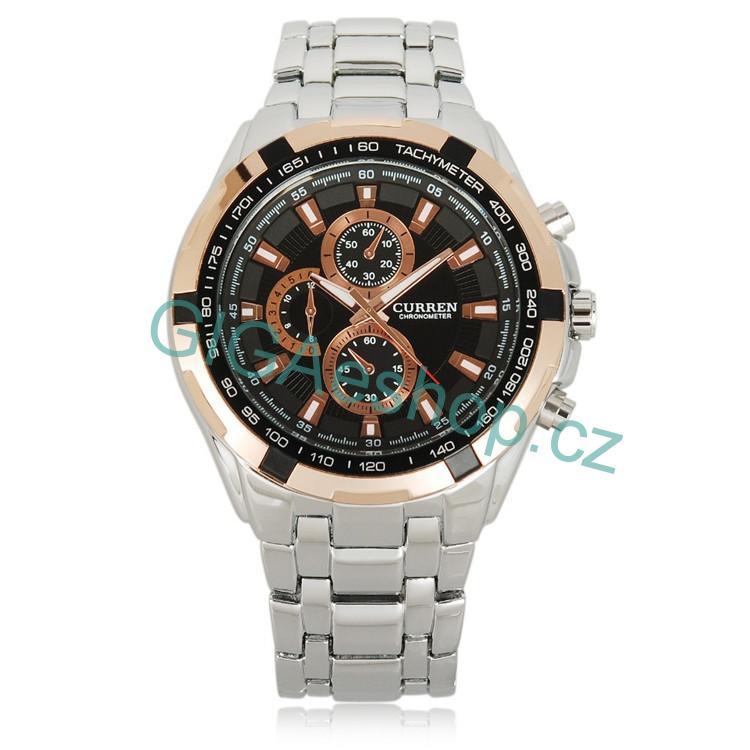 d298e00e4 HODINKY | HODINKY CURREN - Luxusní módní pánské náramkové hodinky ...