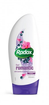 RADOX FEEL Romantic sprchový gel 250ml