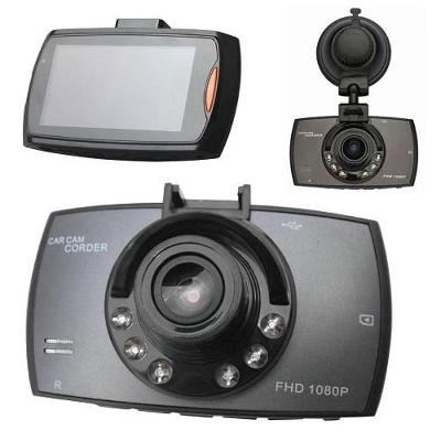 KAMERA DO AUTA, autokamera 2,7 LCD, Full HD, led