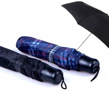 Skládací deštník průměr 100 cm ( Skládací deštník Průměr 100 cm Rozměr ve složeném stavu: 24 cm 8 panelů Hliníkový třídílný rám Černá plastová rukojeť Pouzdro Poutko na zápěstí Manuální otvírání Barva: různé barvy)