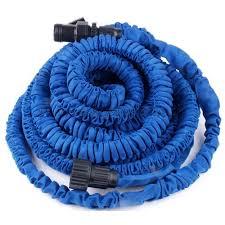 SMRŠŤOVACÍ ZAHRADNÍ HADICE 30m (Flexibilní zahradní hadice délka 30 metrů včetně trysky pro rozprašování a zalévání. Natahovací hadice 30m je hadice, se kterou vás práce bude vyloženě bavit! Dejte sbohem zašmodrchaným hadicím!)