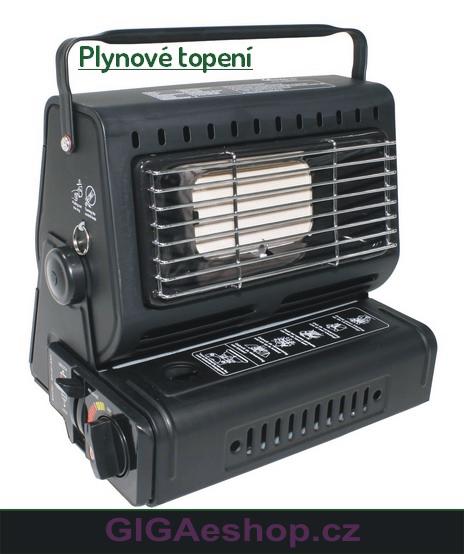 RSONIC PLYNOVÉ TOPENÍ A VAŘIČ 2v1 (Rsonic přenosné topení otočitelné o 90° na kartuše 2 V 1. Topí ohřívá, vaří.)