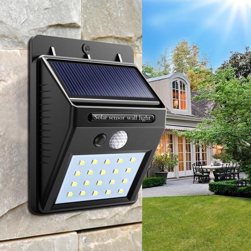 SOLÁRNÍ LED OSVĚTLENÍ S POHYBOVÝM SENZOREM (Solární světlo s velmi jasným světlem s detektorem pohyb