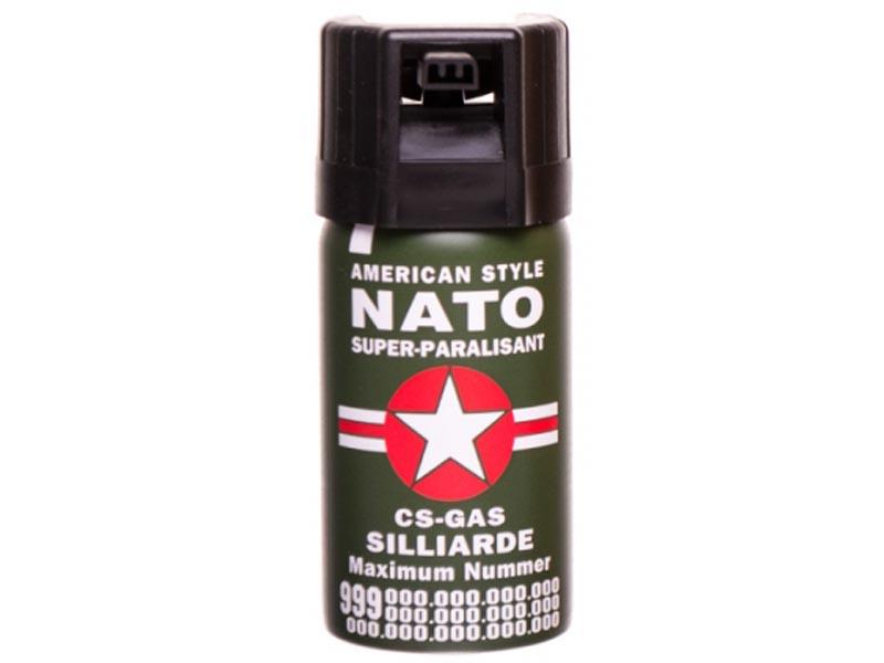 PEPŘOVÝ SPREJ NATO, KASER (Sebeobranný sprej)