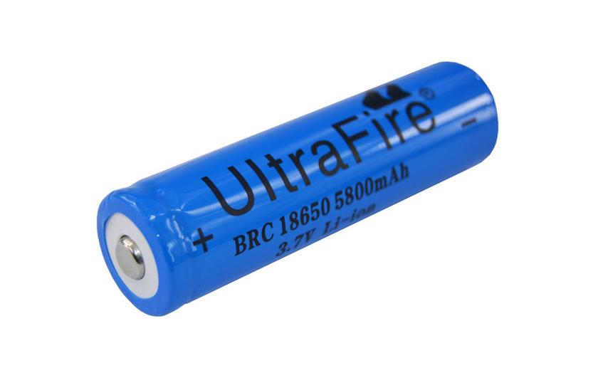 Baterie pro čelovky - Ultra Fire - 18650 - 3.7V (Dobíjecí lithium-iontová baterie pro čelovky)