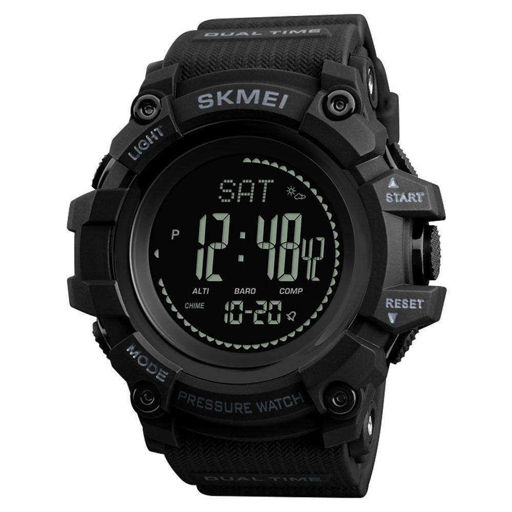SPORTOVNÍ HODINKY SKMEI - VODOTĚSNÉ (Vodotěsné venkovní sportovní digitální hodinky pro muže s digitálním kompasem.)