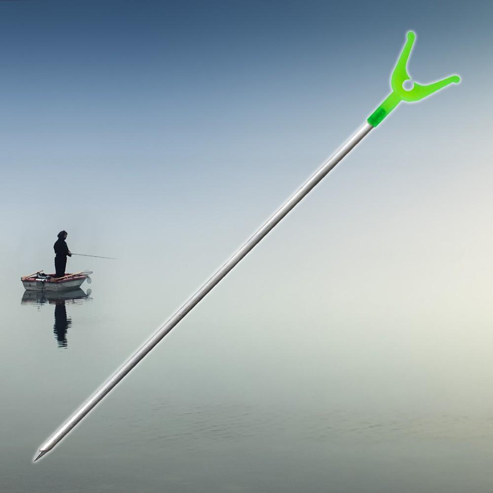 DRŽÁK NA UDICE (Vidlice pro rybářské pruty pro zapíchnutí na břehu. Konec stojanu dostal hrot, který pomůže usnadnit zapíchnutí do země.)