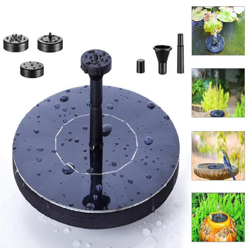 PLAVOUCÍ SOLÁRNÍ FONTÁNA (Tato solární fontána se stane originální ozdobou vaší zahrady nebo terasy.)